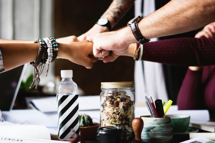 Gründe für PR Arbeit Teamwork