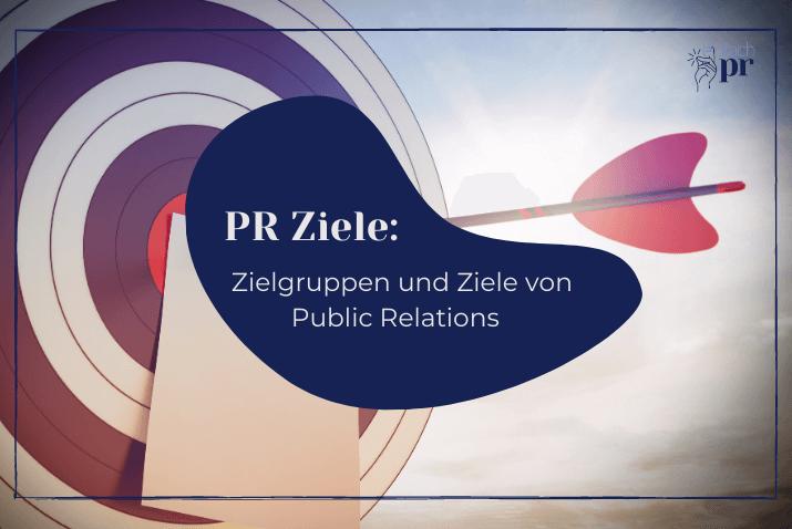 Cover: PR-Ziele