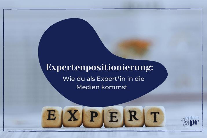 Titelbild: Expertenpositionierung