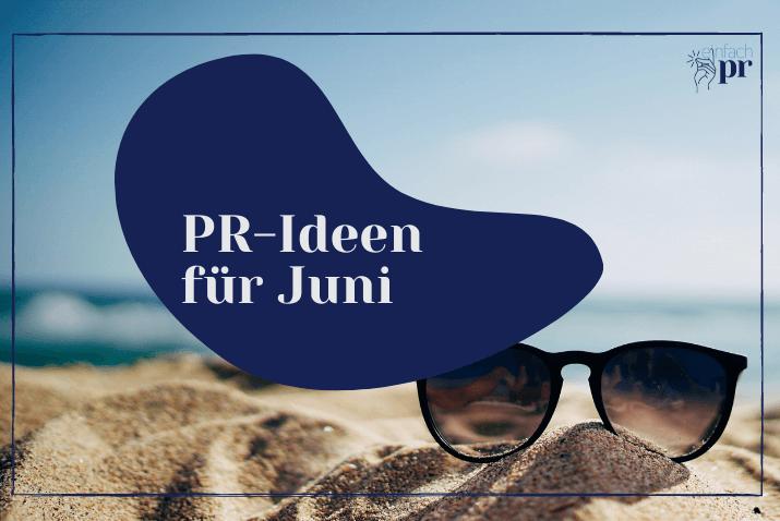 Titelbild: PR-Thema-Juni