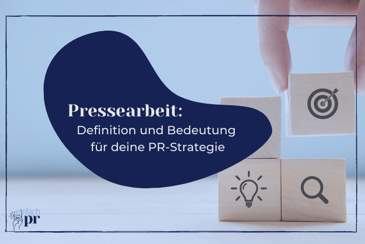 Cover: Pressearbeit-Definition