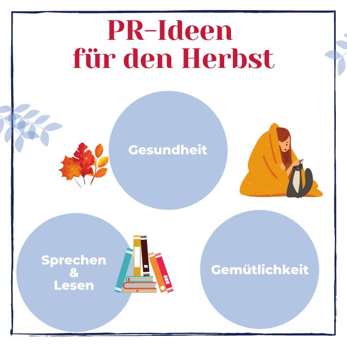 Grafik: PR-Ideen für den Herbst