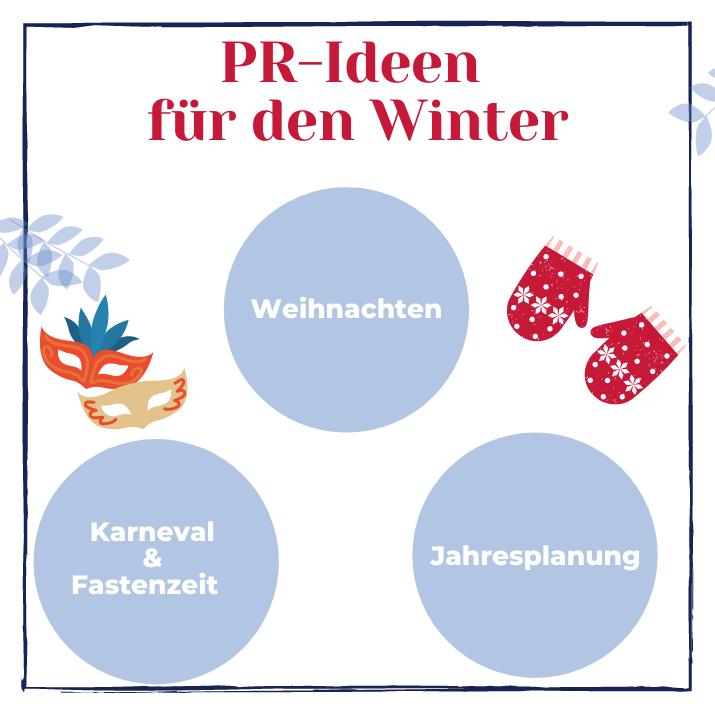 Grafik: PR-Ideen für den Winter